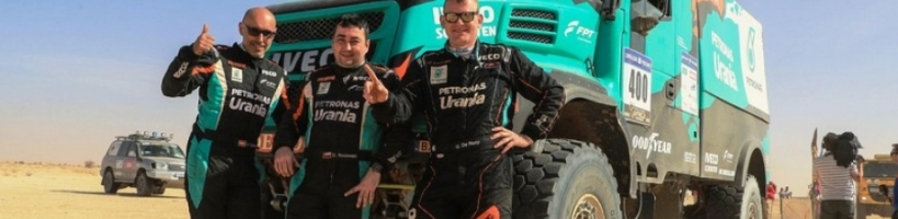 IVECO DOMINA EL AFRICA ECO RACE 2018: GERARD DE ROOY CONSIGUE LA VICTORIA PARA EL EQUIPO PETRONAS DE ROOY IVECO