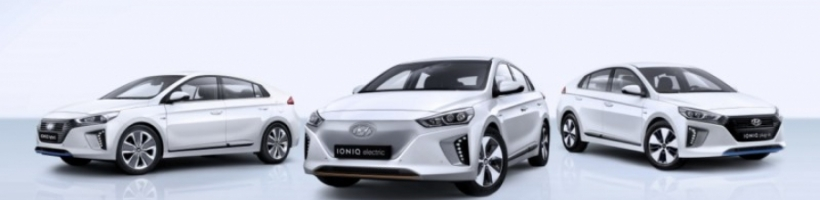 Hyundai IONIQ es el máximo ganador del Women´s Car of the Year 2017