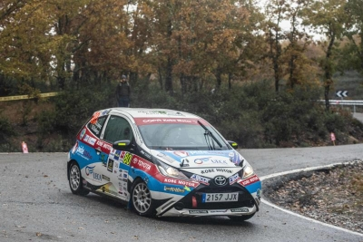 SERGIO LÓPEZ DOMINA EN CASA (Rally Team Spain)