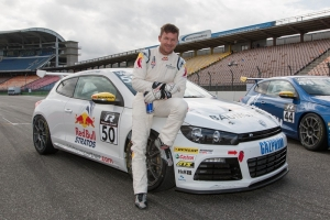 DTM finale: Felix Baumgartner starts in the Scirocco R-Cup in Hockenheim