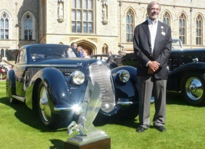 WINNER TROPHIES AND AWARDS ANNOUNCED FOR THE 2014 CONCOURS OF ELEGANCE AT HAMPTON COURT PALACE